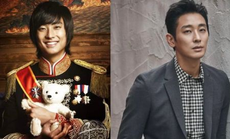 Ju Ji-hoon played Crown Prince Lee Shin in Princess Hours