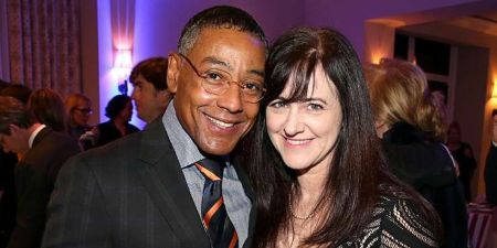 Giancarlo Esposito and his ex-wife, Joy McManigal