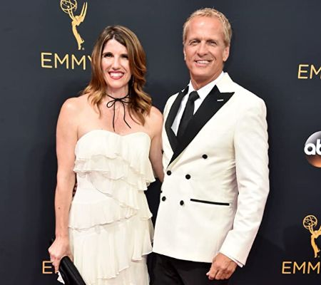Patrick Fabian and Mandy Steckelberg