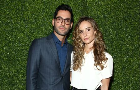 Tom Ellis and his wife, Meaghan Oppenheimer