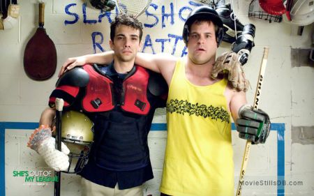 Kyle alongside Jay Baruchel in She's Out of My League