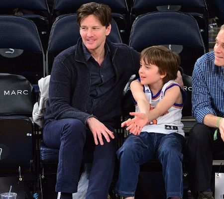 Andrew McCarthy and Sam McCarthy