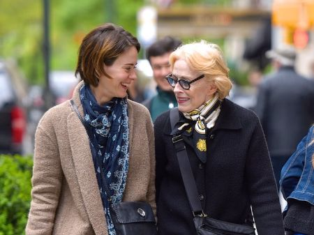 Holland Taylor and girlfriend, Holland Taylor