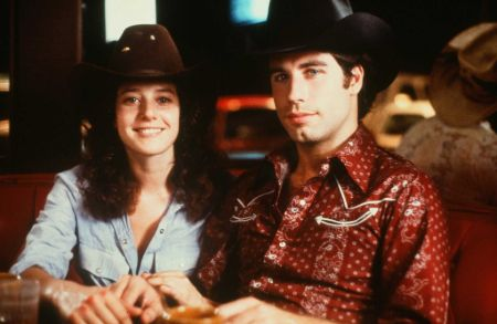 Debra Winger and John Travolta in Urban Cowboy