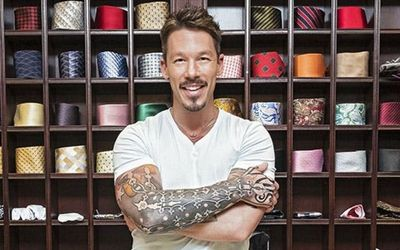 What Do The Tattoos Of Famous Interior Designer And TV Show Host David Bromstad's Tattoos Mean?